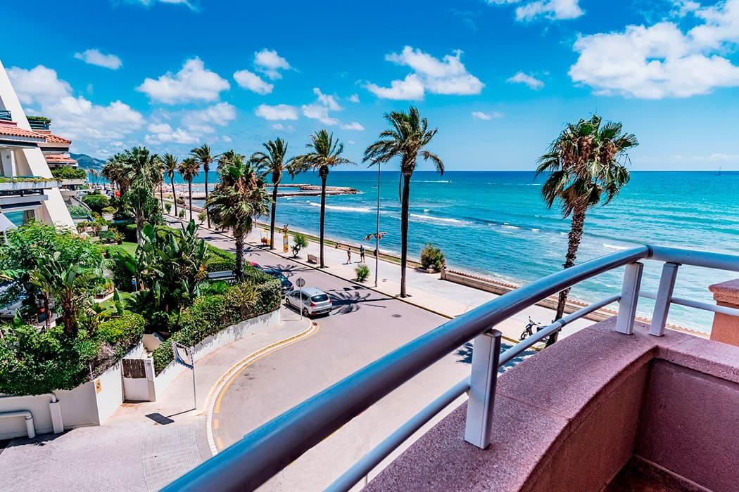 Hotel frente al mar en Sitges