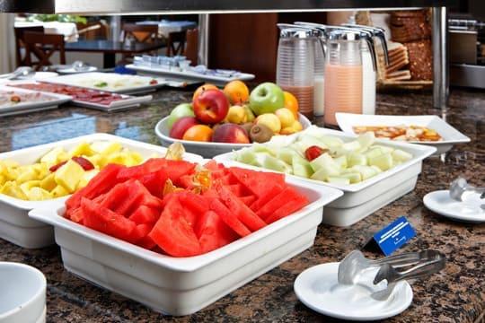 desayunos en el hotel