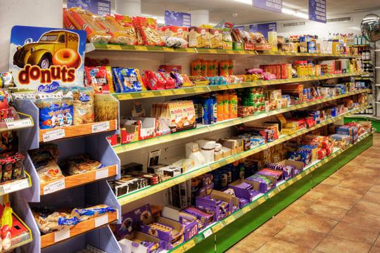 Supermercado en el hotel